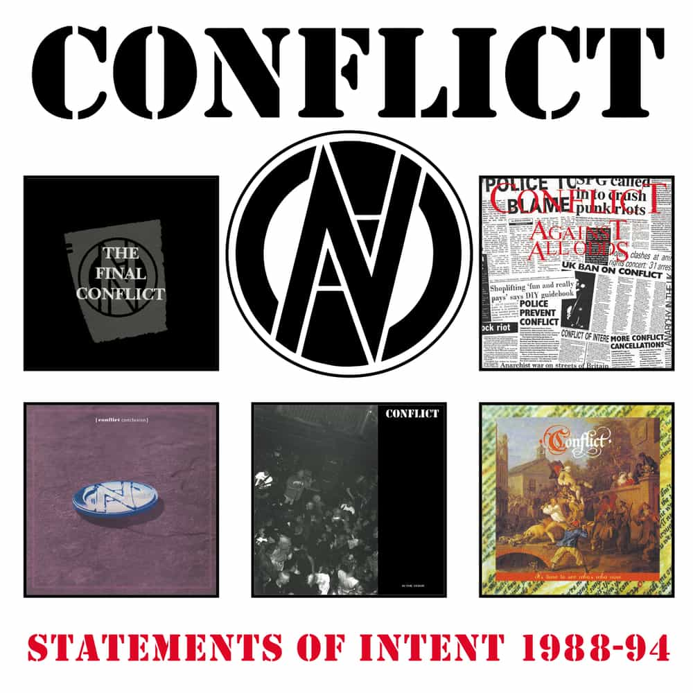 Image of Conflict: Statements Of Intent 1988-1994, 5CD Clamshell Box