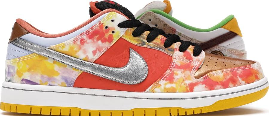 "Image of Nike Dunk Low SB ""Street Hawker"" Sz 12"