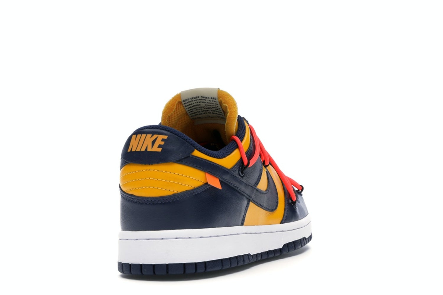 "Image of Nike Dunk Low SB Off White ""Michigan' Sz 11.5"
