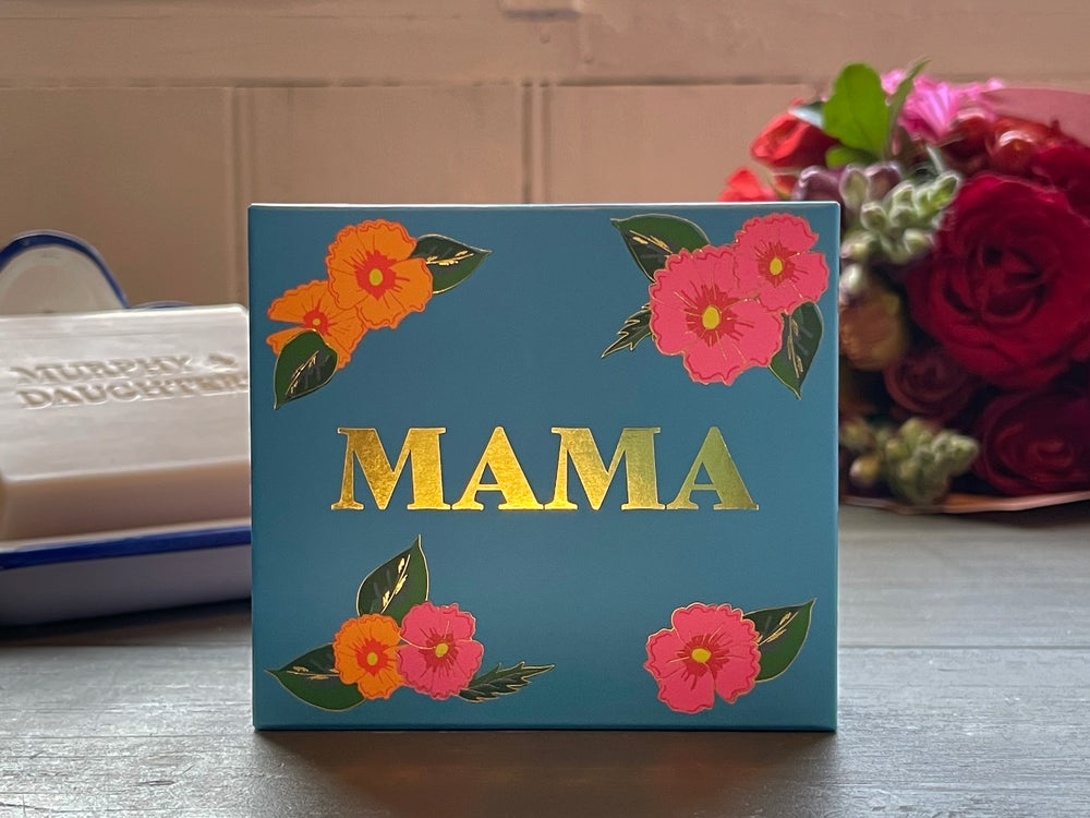 Image of Message on a Soap MAMA Milk