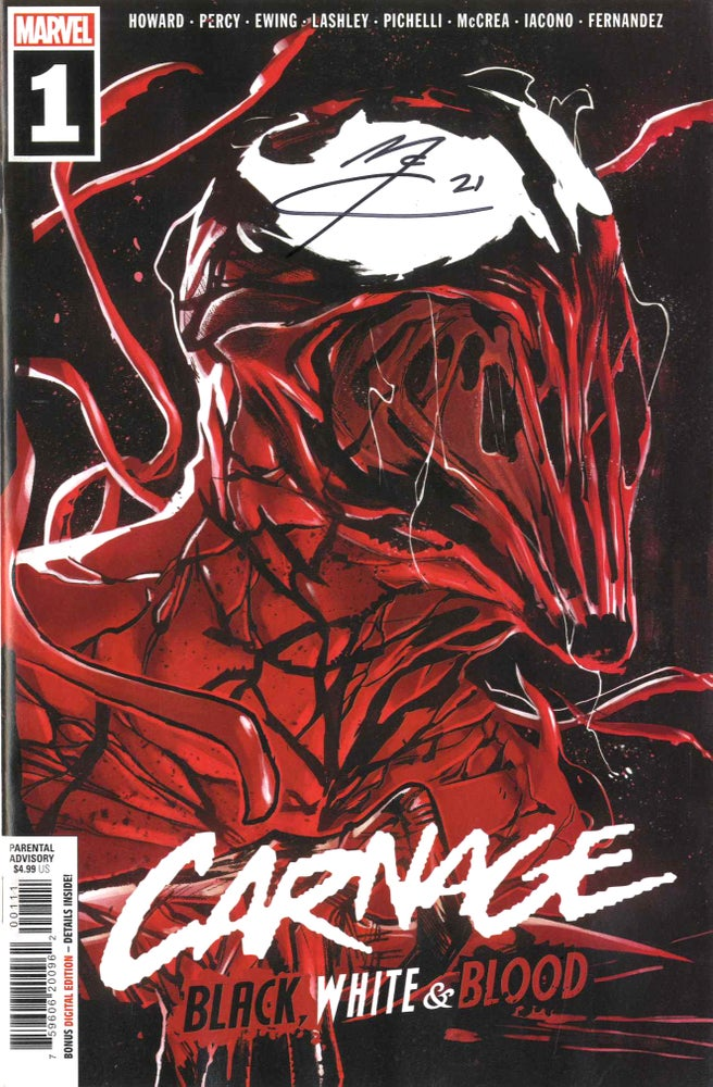Image of Carnage: Black, White and Blood #1 page 7
