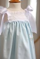 Image 1 of The 'Layne' Ribbon Heirloom Dress