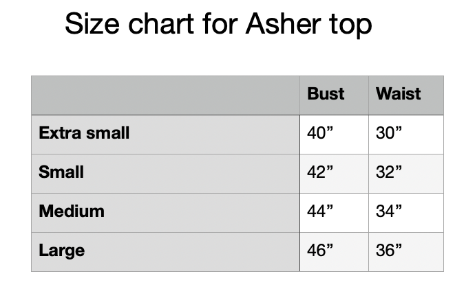 Image of Asher top in silver