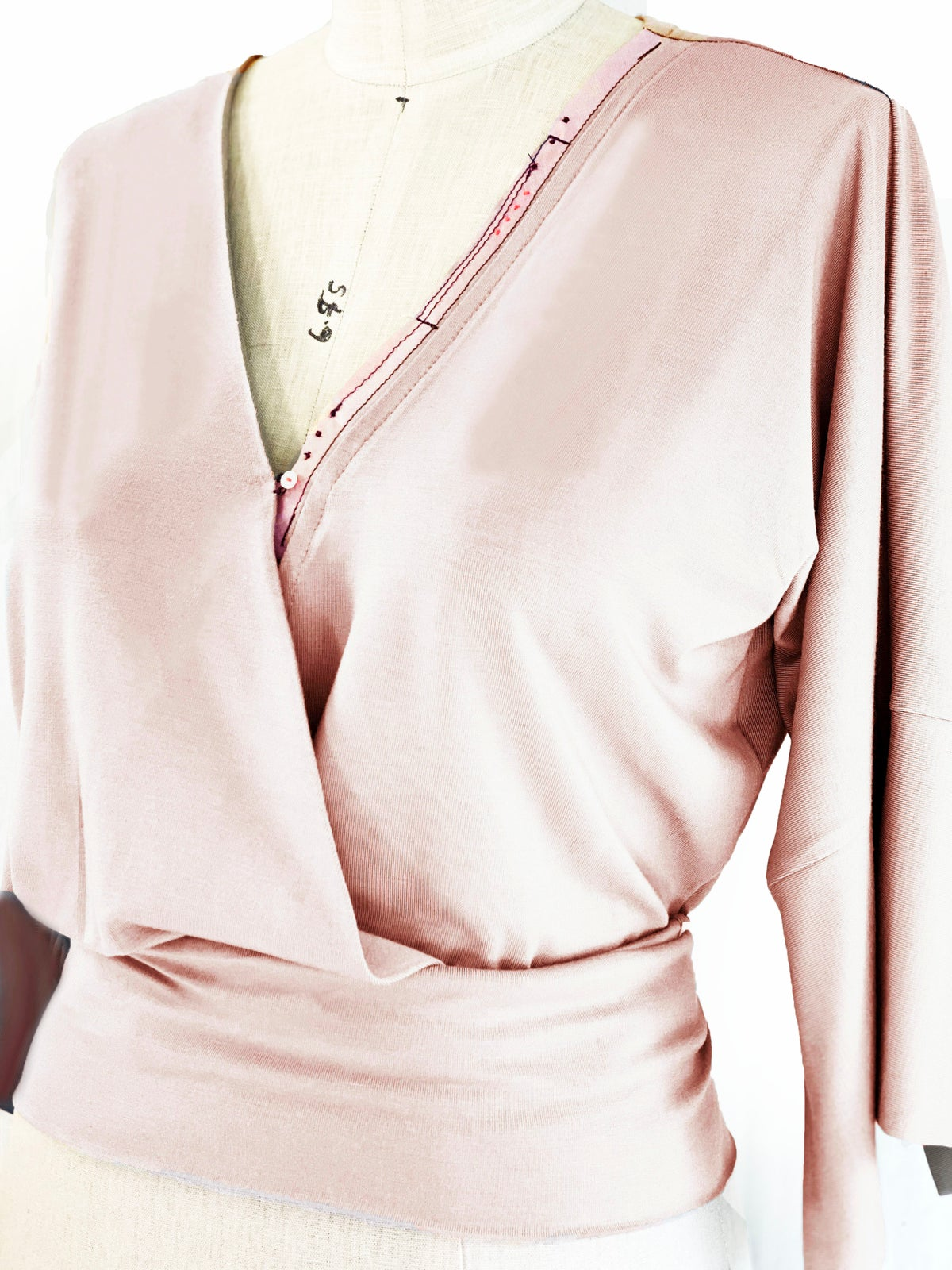 Image of Asher top in blush