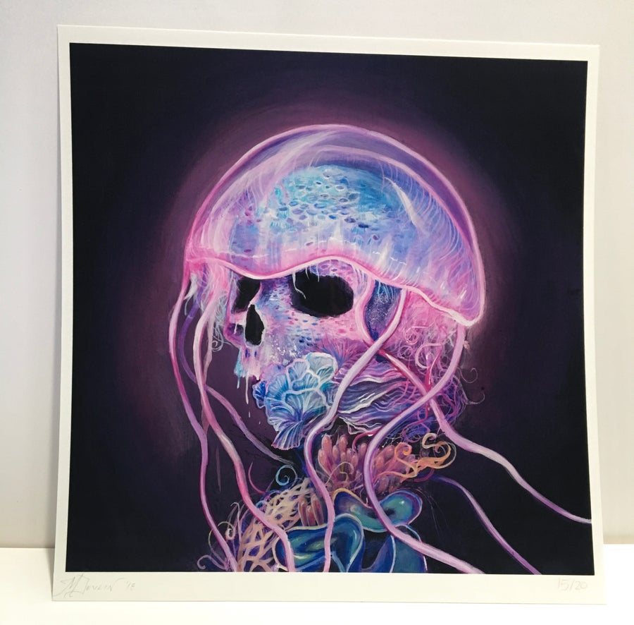 Image of Jelly Death I Giclee print