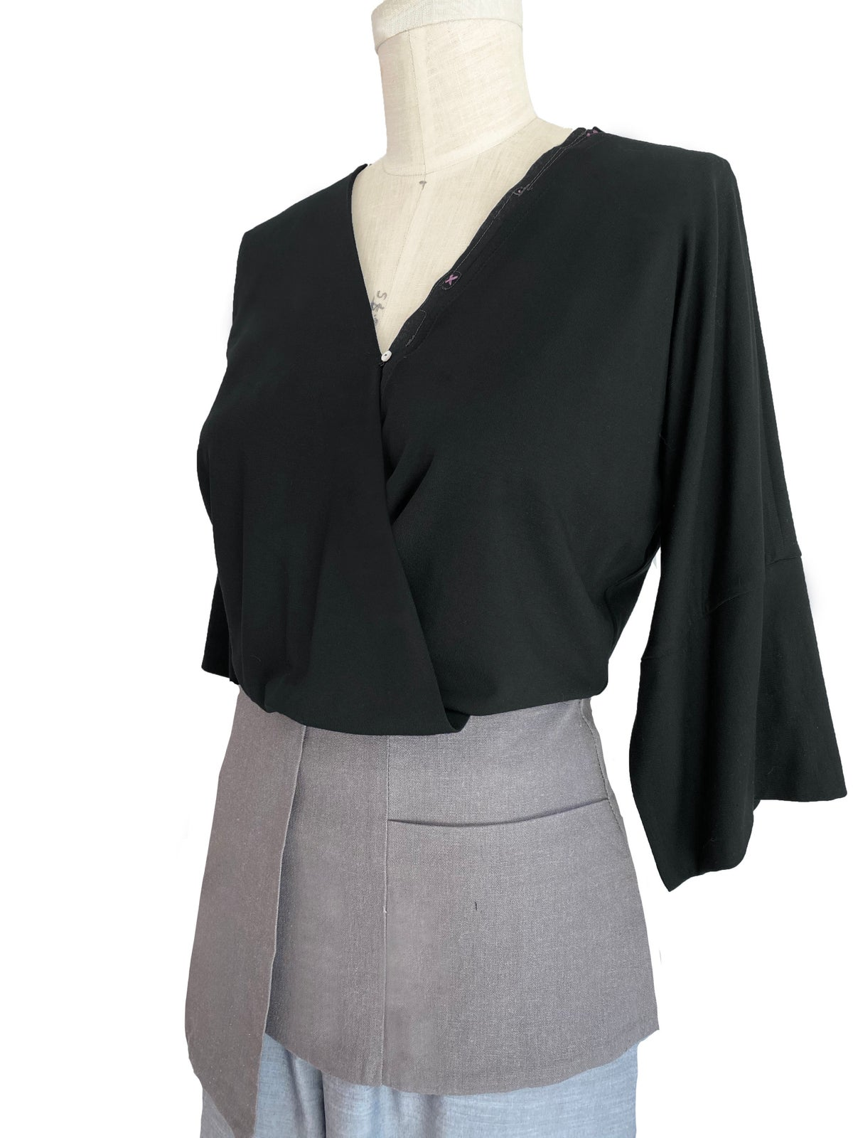 Image of Asher top in black
