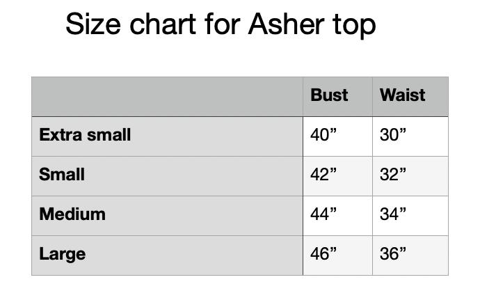 Image of Asher top in lt gray melange