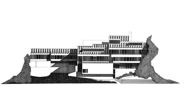 Image of SPECIAL OFFER  Dunelm House original pen drawing.