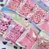 Pink Sprinkles - Choose your pack