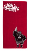 Image of JEFF CANNONBALL BEACH TOWEL PRE-ORDER 4/16-4/23