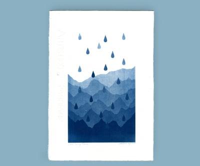 """Image of """"Cordillera Azul con Lluvia"""""""