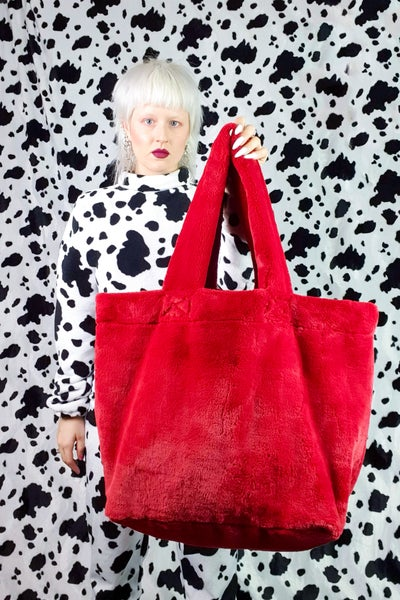 Image of Red GIGA purse