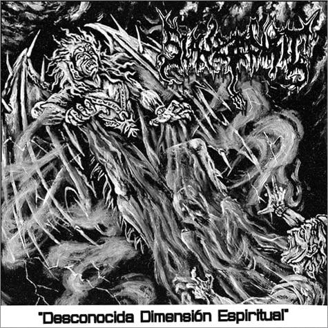 """Image of SLAVE SPIRIT (Chile) - """"Desconocida dimensión espiritual""""  CD"""