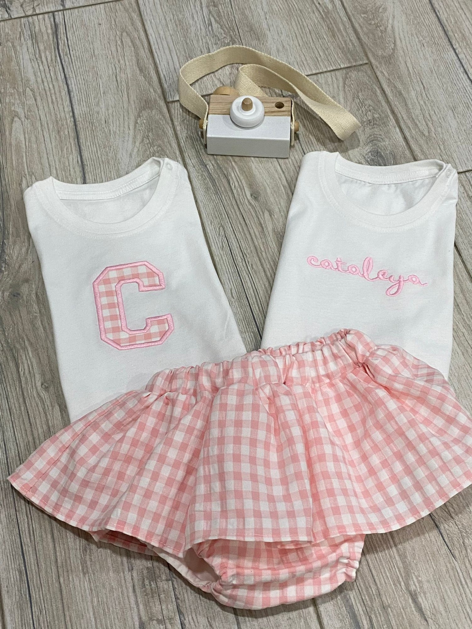 Image of Jumper, skorts & bow set