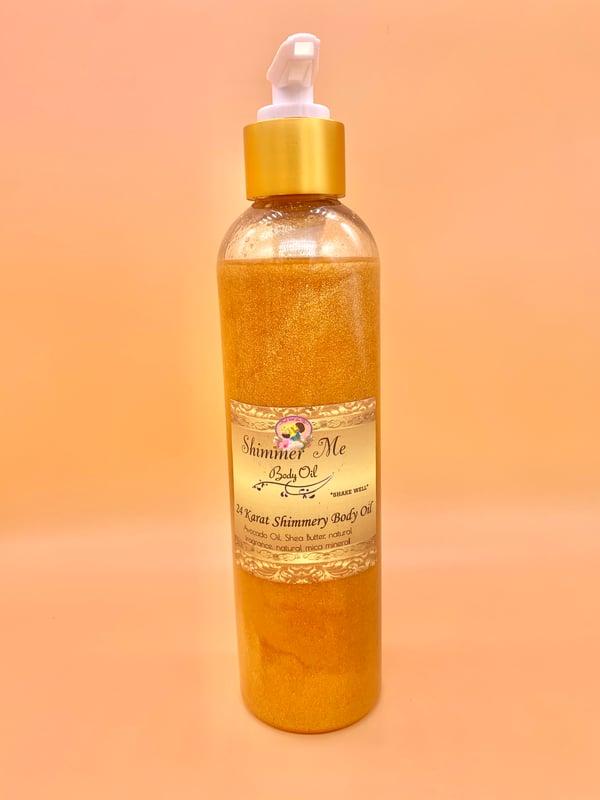 Image of Shimmer Me 24 Karat Body Oil