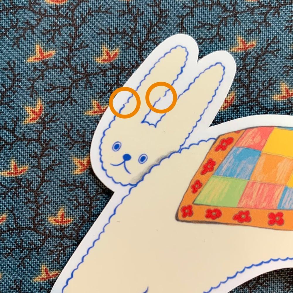 (B GRADE) Bunny Sticker