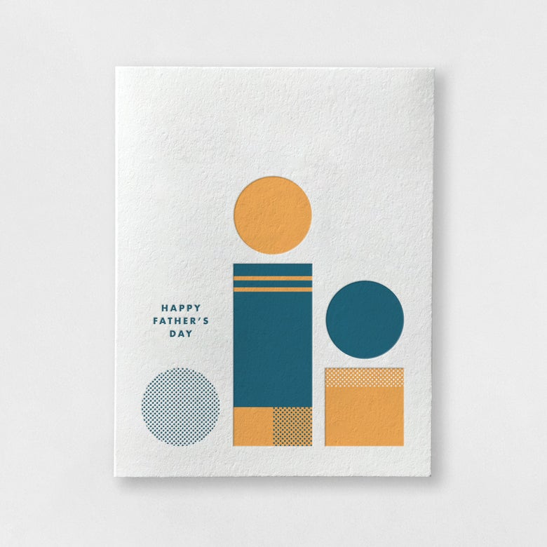 Image of Father's Day - Shapes