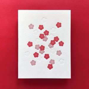 Image of Cherry Blossoms Card - Small Blossoms