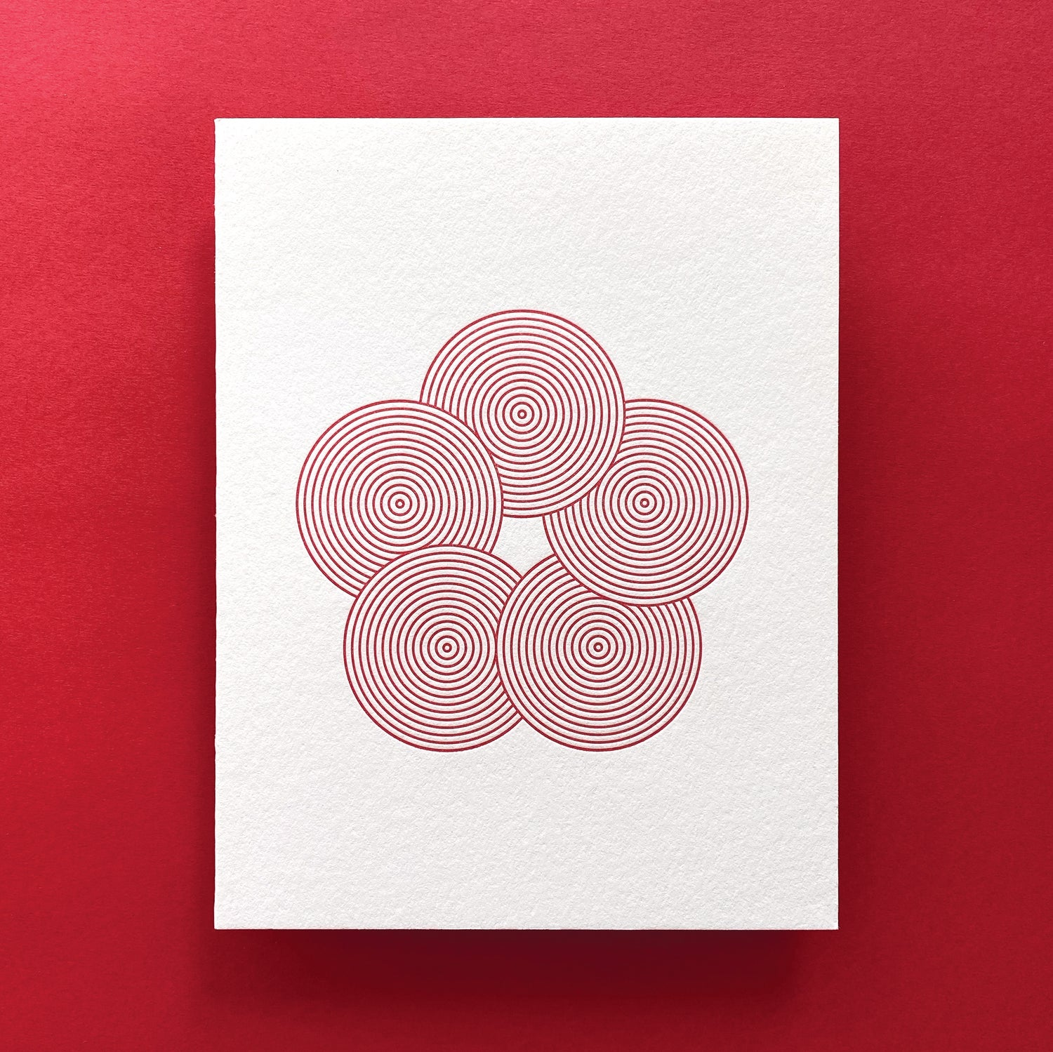 Image of Cherry Blossoms Card - Large Blossom