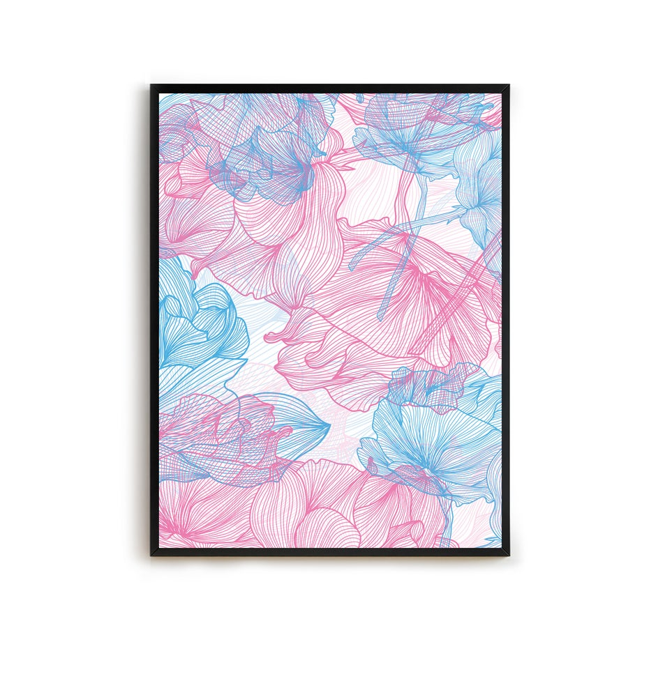 Image of Blooms: Music of the Ground (Print)