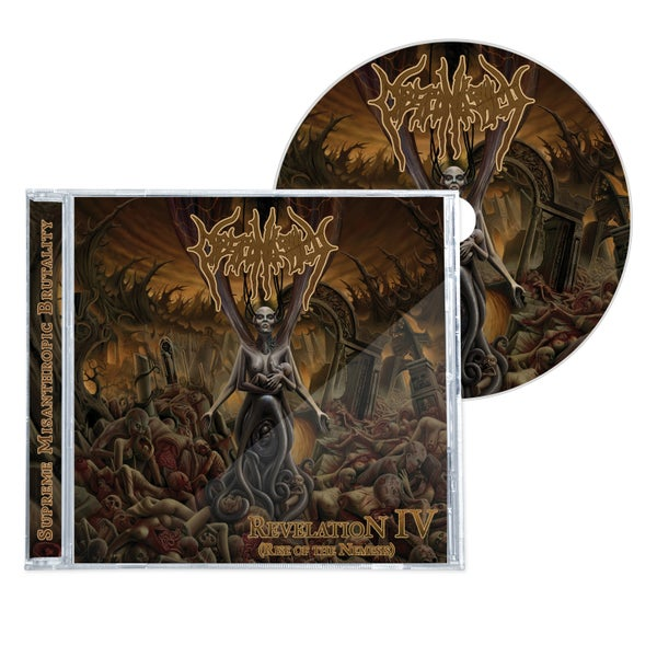 "Image of DESPONDENCY ""REVELATION IV (RISE OF THE NEMESIS)"" CD"