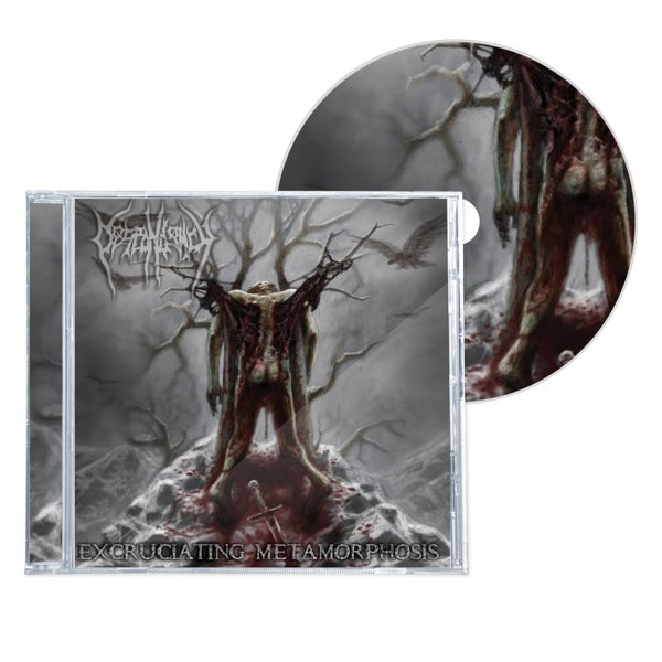 "Image of DESPONDENCY ""EXCRUTIATING METAMORPHOSIS"" CD"