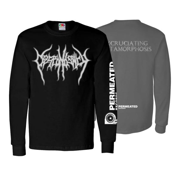 "Image of DESPONDENCY ""EXCRUTIATING METAMORPHOSIS"" LONG SLEEVE"