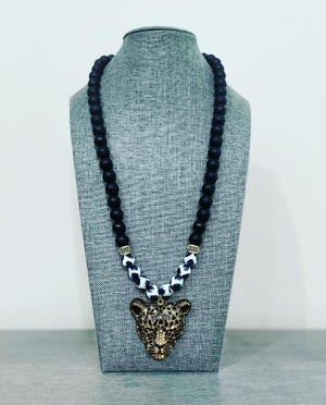 Cheetah Inspired Necklace Too