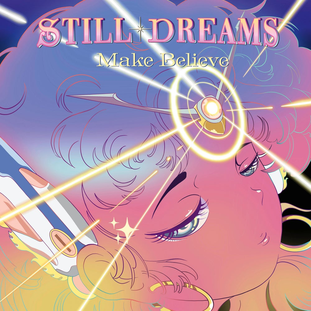 """Image of STILL DREAMS - Make Believe (Limited Pink 12"""" Vinyl/MP3s)"""