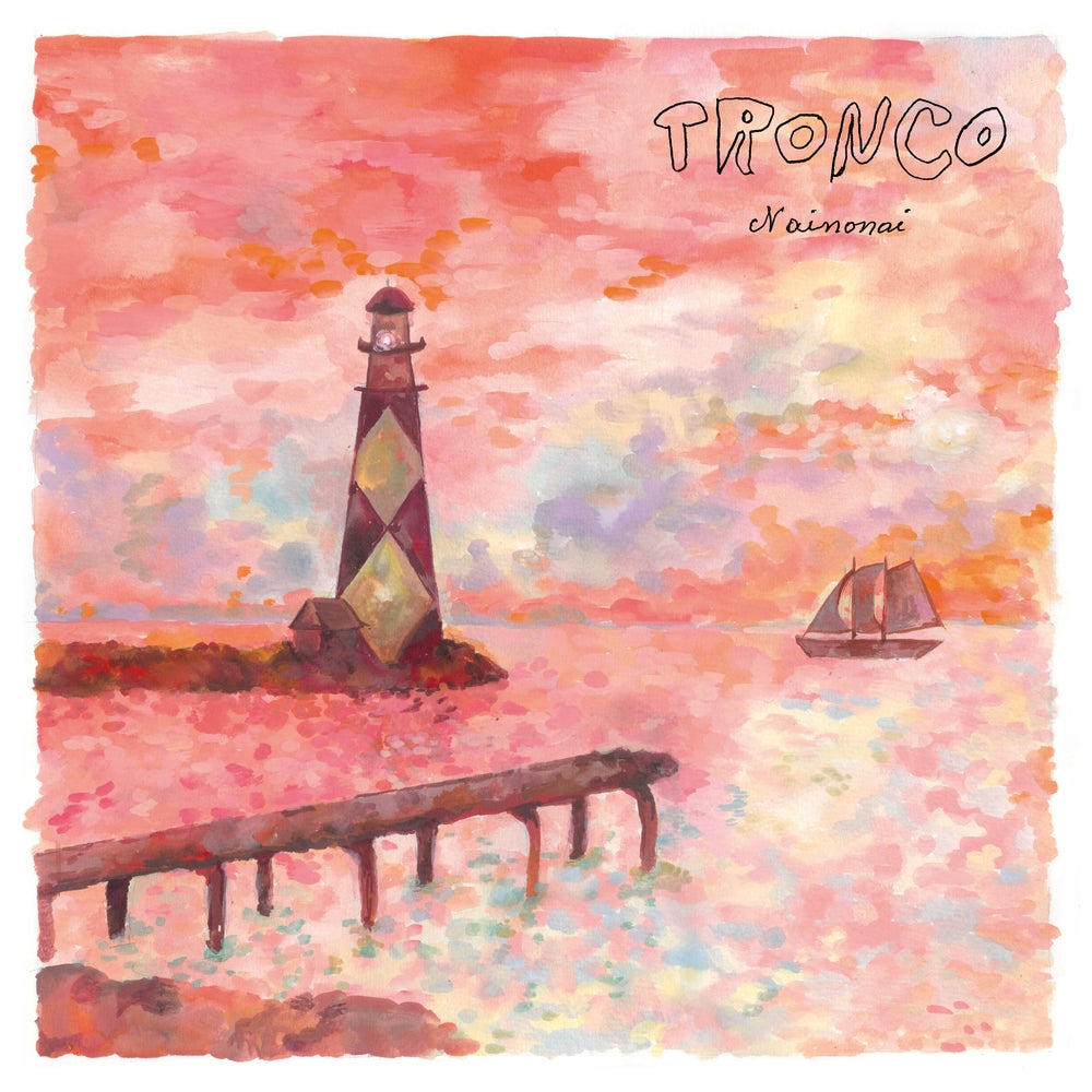 """Image of TRONCO - Nainonai (Limited Red 12"""" Vinyl + 12-page booklet + MP3s)"""
