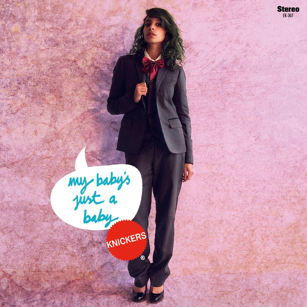 """Image of KNICKERS - My Baby's Just A Baby (Limited Red 7"""" Vinyl/MP3s)"""