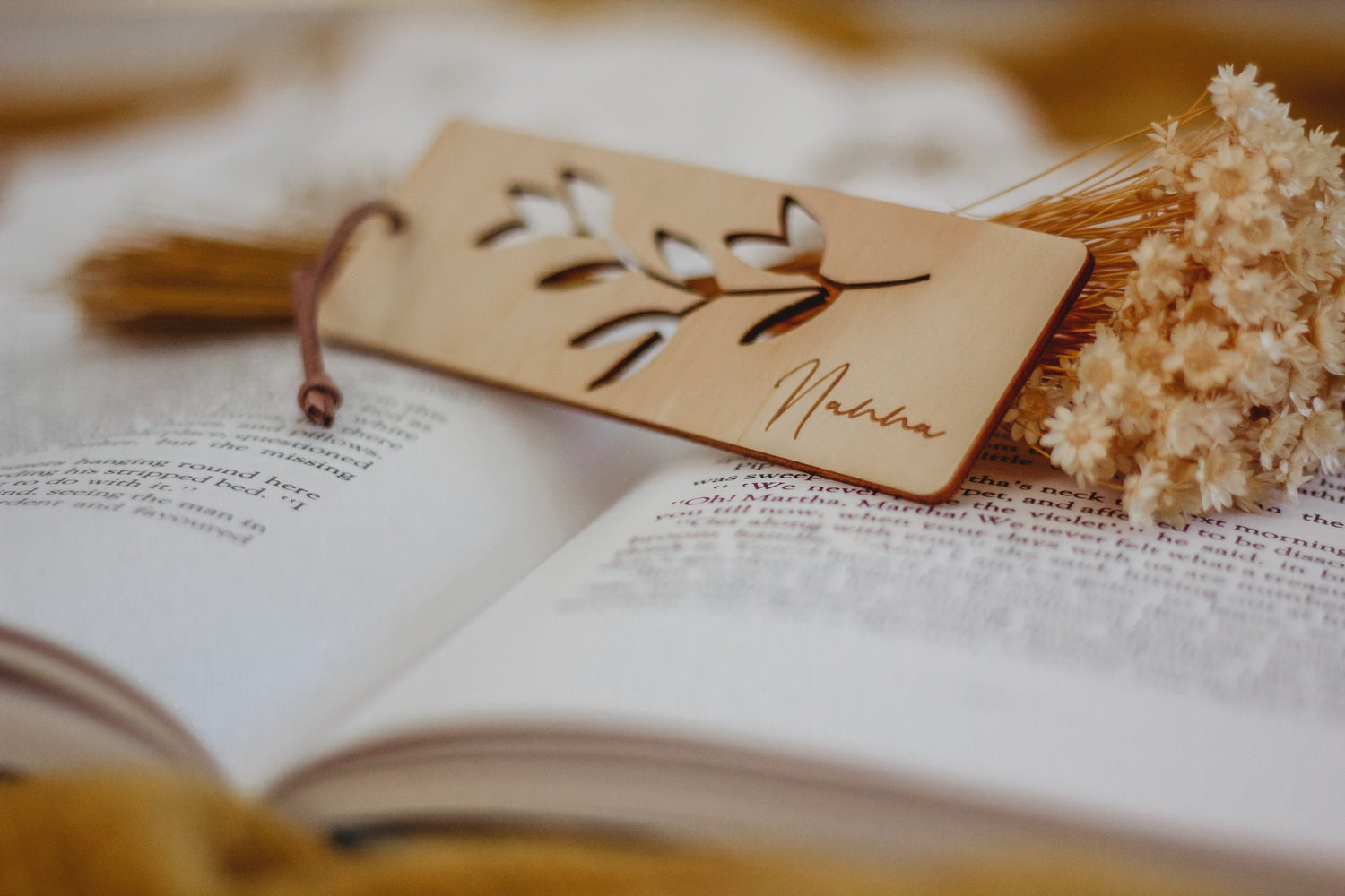 Image of MOTHER'S DAY: Vine | Timber bookmark