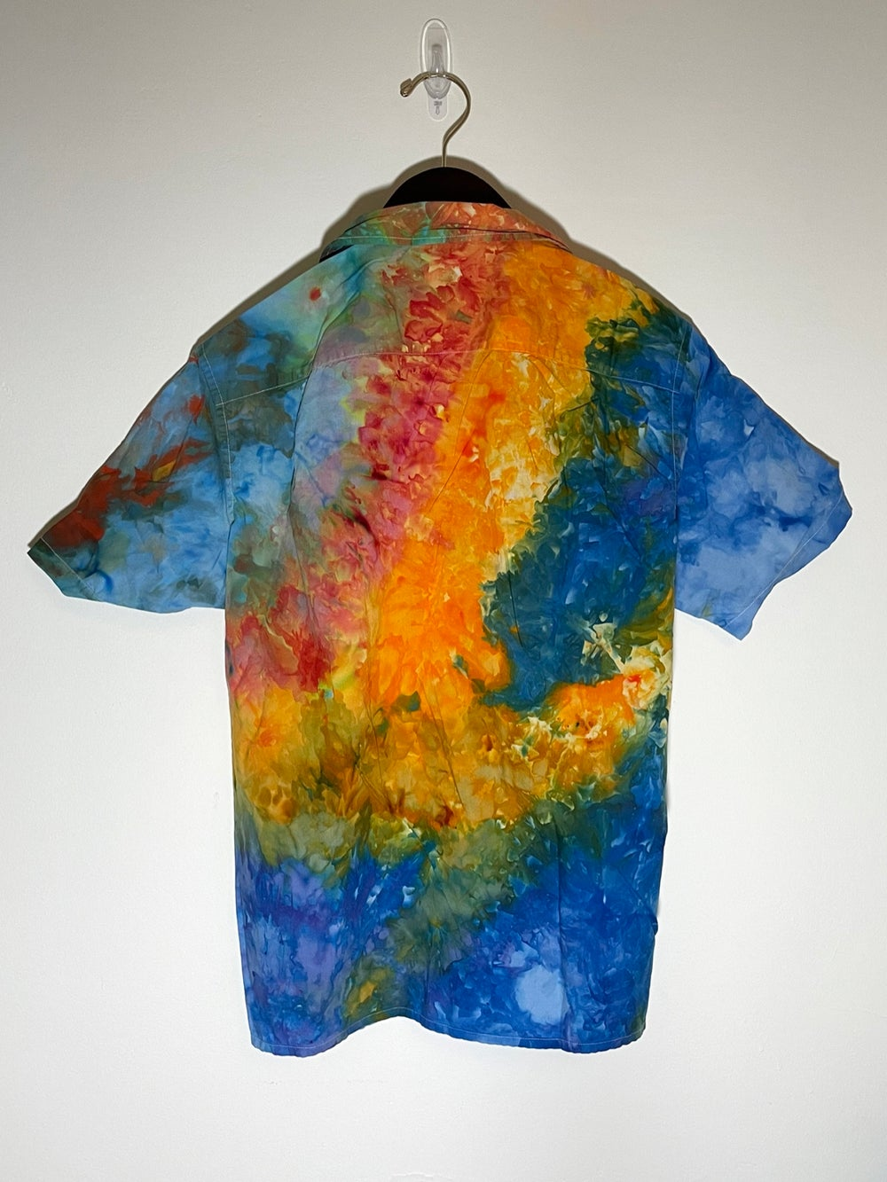 Tie Dye Button-up #1 - Extra Small