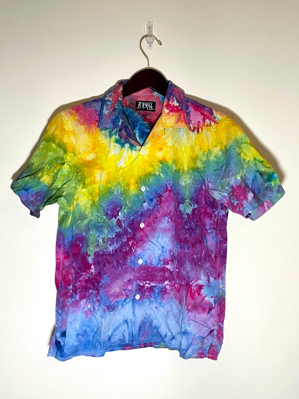 Tie Dye Button-up #2 - Extra Small