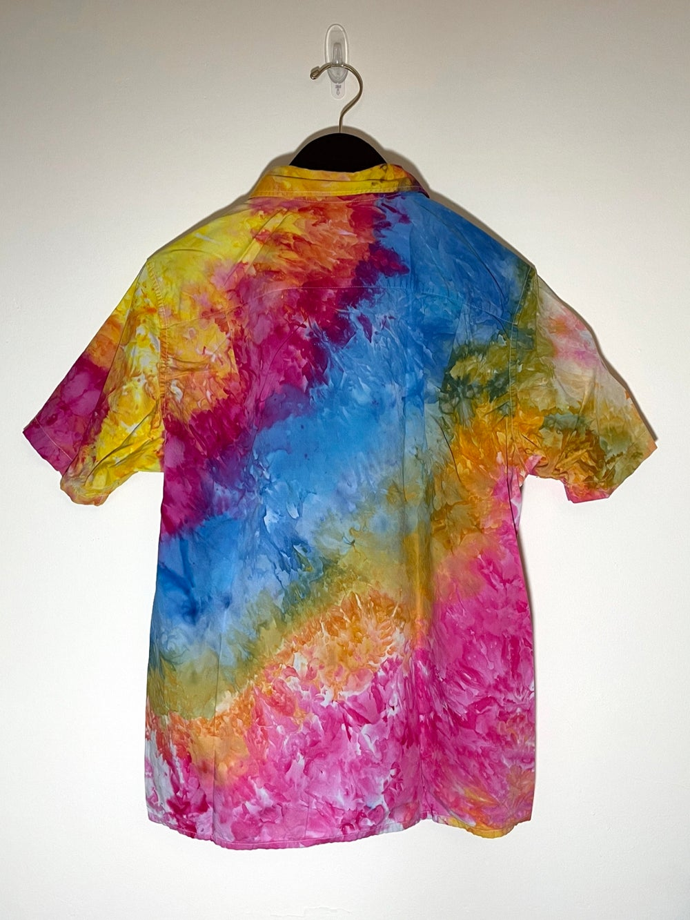 Tie Dye Button-up #4 - Small
