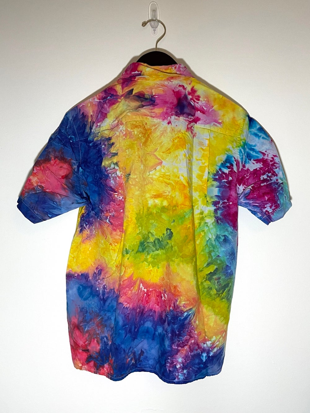 Tie Dye Button-up #5 - Small