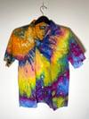 Tie Dye Button-up #9 - Medium
