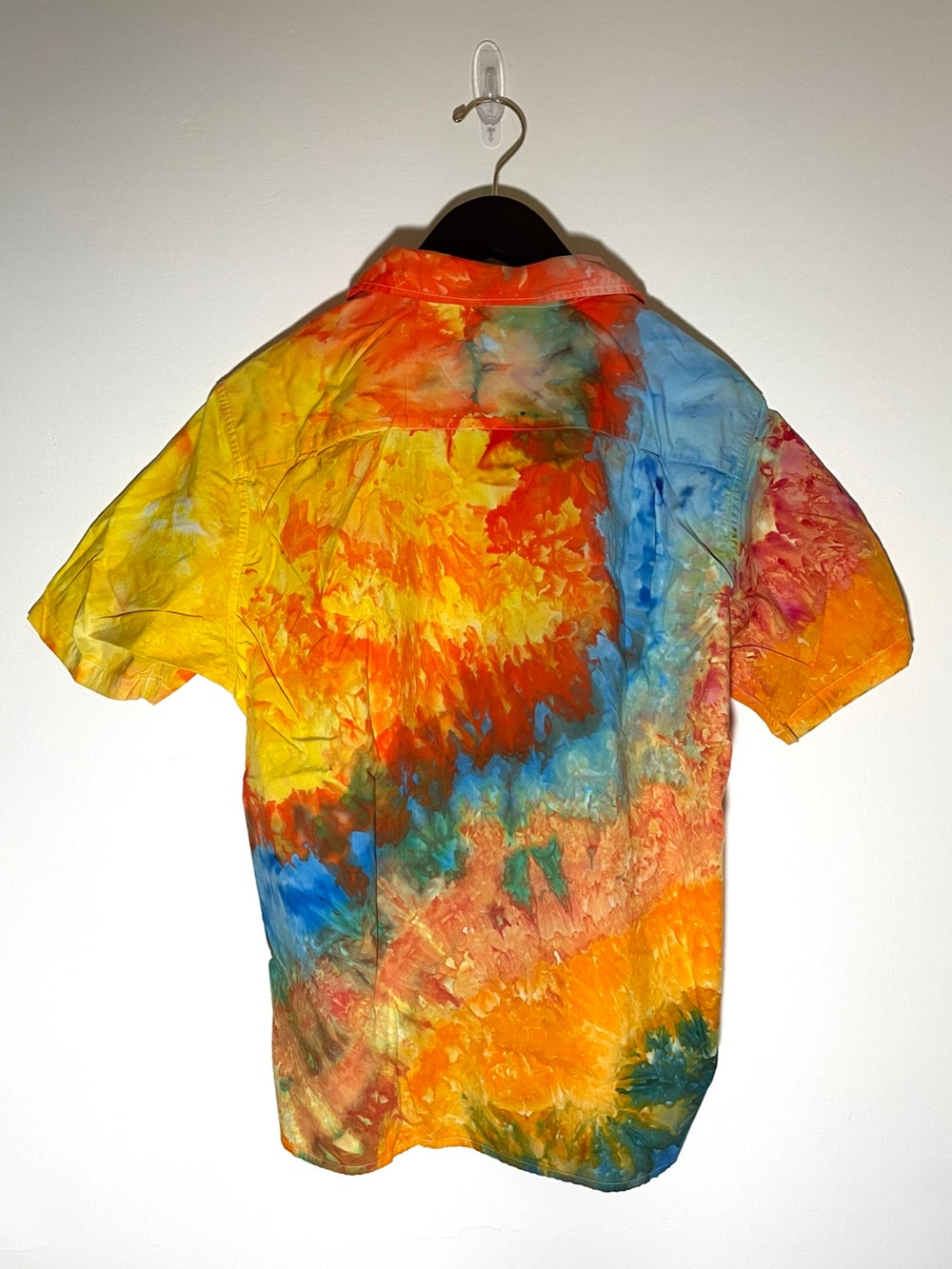 Tie Dye Button-up #12 - Medium