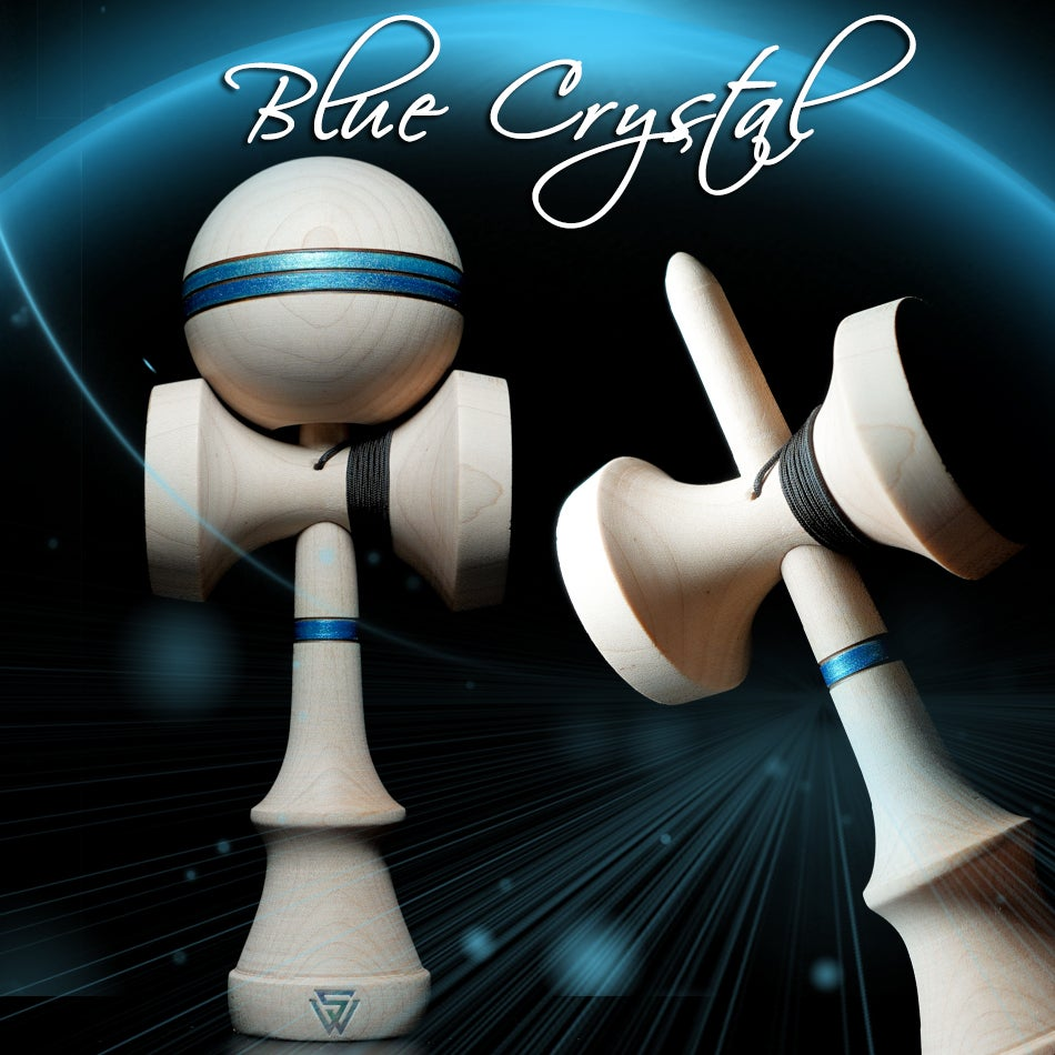 Image of WINNER GHOST 2.0 SHAPE BLUE CRYSTAL 3 STICKY CUP