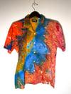 Tie Dye Button-up #13 - Medium