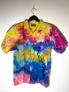 Tie Dye Button-up #16 - Large