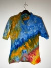 Tie Dye Button-up #18 - Large