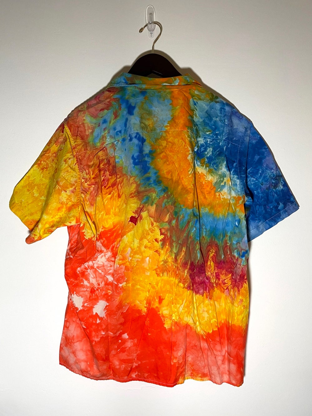 Tie Dye Button-up #21 - Extra Large