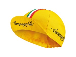 Image of Campagnolo Classic Cycling Cap yellow
