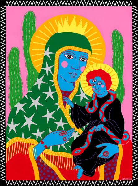 Image of Mother & Child Fine Art Print