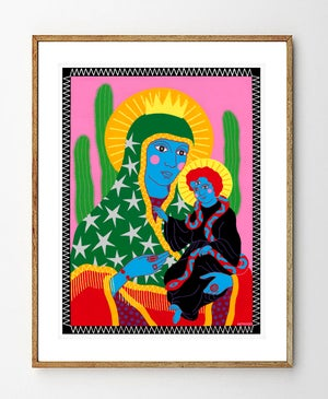Image of Mother & Child Fine Art Print
