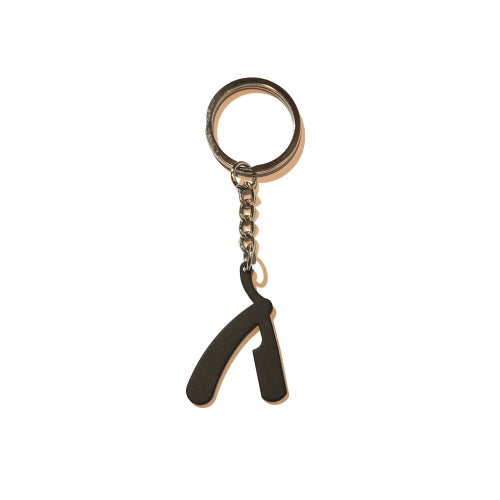 Image of Straight Razor Keyring