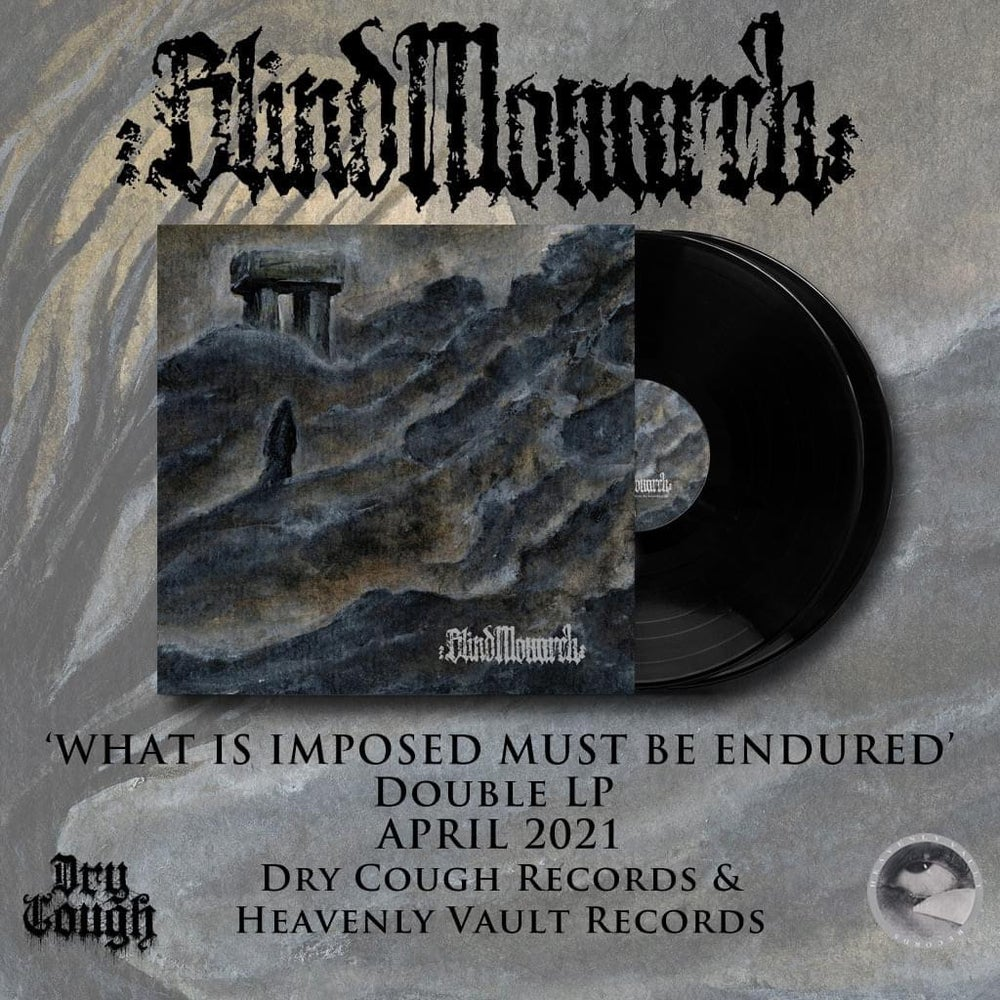 Image of Blind Monarch - What Is Imposed Must Be Endured 2LP (DC43)