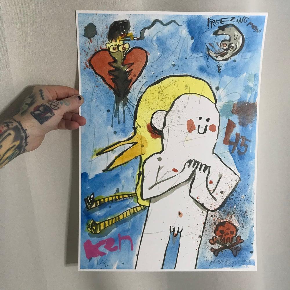 Image of Mr. Sunshine Loves Misery (LTD A3-Print)