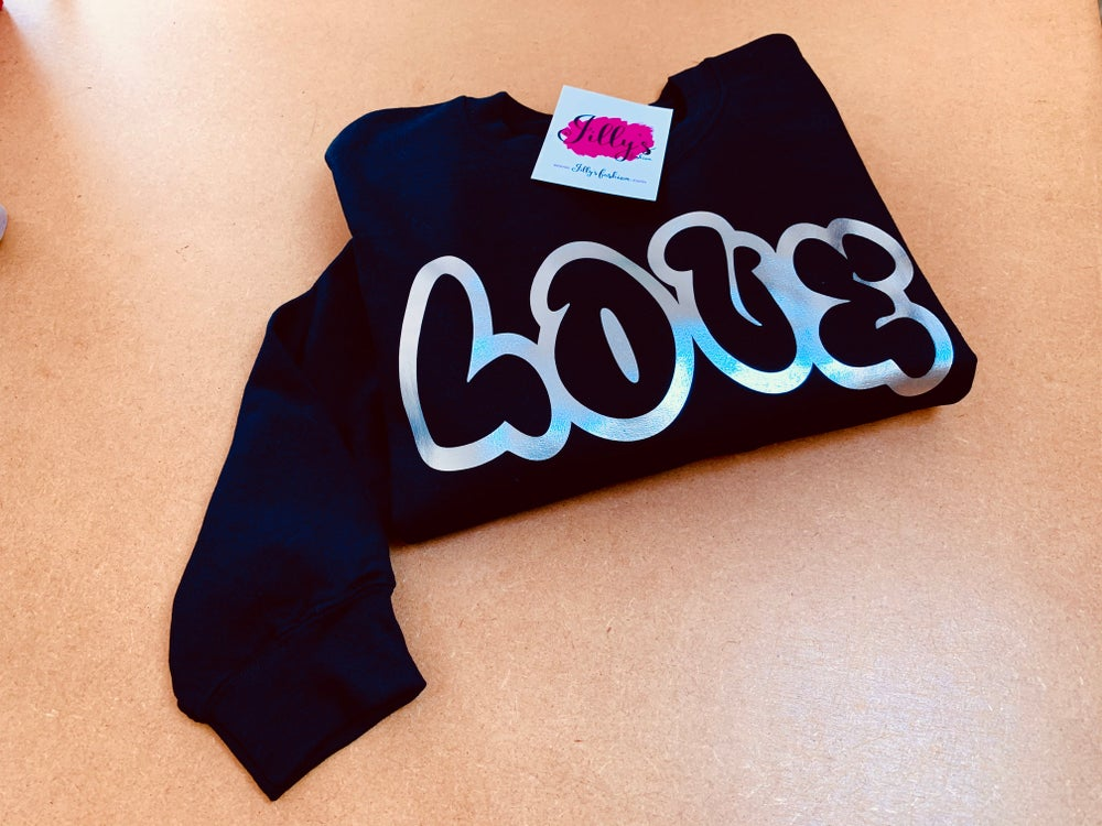 Layla LOVE sweater - adult